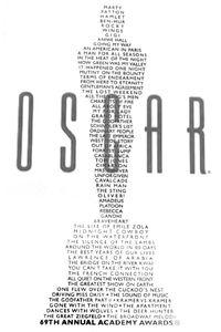 Oscars print 69th