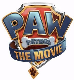 Paw Patrol Movie logo