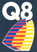 Stickers-and-patches-q8-logo-sticker-small-5cm-x-7cm- 2