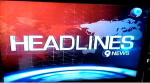 The Headlines (9News) Title Card (2014)
