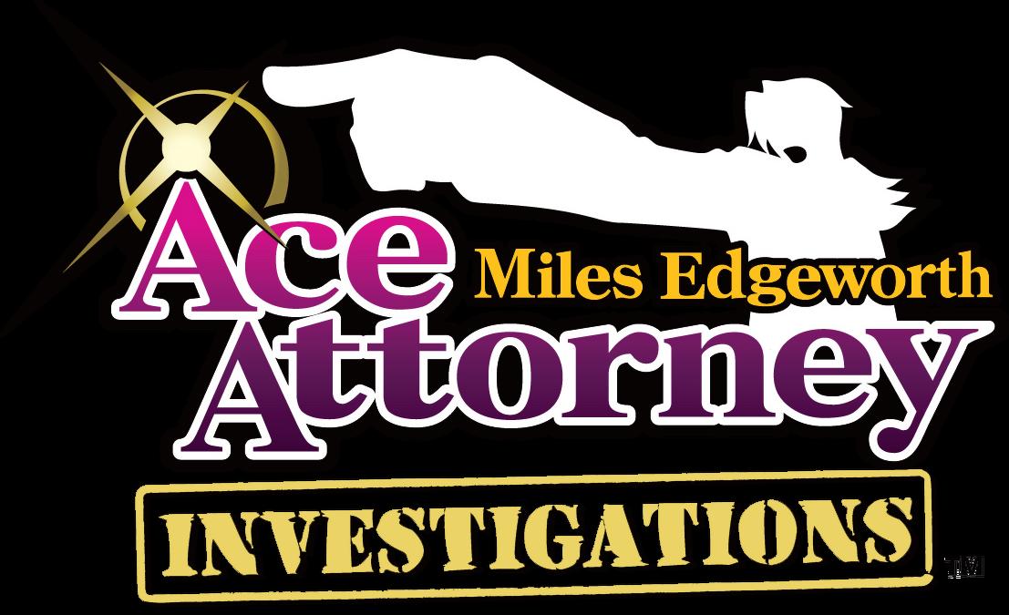 Ace Attorney Investigations- Miles Edgeworth logo