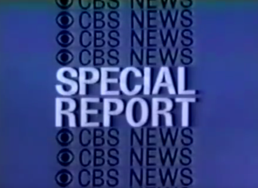 CBS News Special Report | Logopedia | FANDOM powered by Wikia