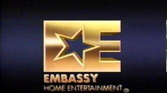 Embassy Home Entertainment 1986 logo