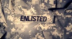Enlisted title card