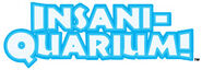 Insaniquarium logo stacked web