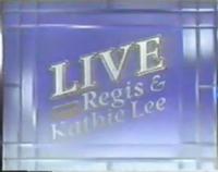Live! with Regis & Kathie Lee 1987