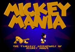 MickeyManiaMegaDrive1994