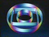 Rede Globo logo PLIM PLIM 1988