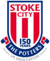 Stoke City FC logo (150th anniversary)
