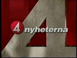 TV4 Nyheterna intro 1996
