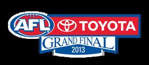2013 AFL Grand Final logo