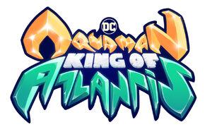 Aquaman King of Atlantis logo