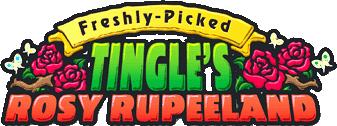 Freshly-Picked Tingle's Rosy Rupeeland (logo)