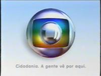 Globo Cidadania A gente vê por aqui logo 2005