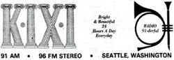 KIXI Seattle 1973
