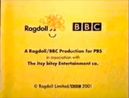 Teletubbies End Card on PBS Rerun