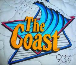 WKOC 1991 93.7 The Coast
