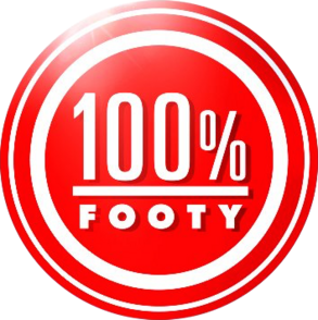 100% Footy Logo
