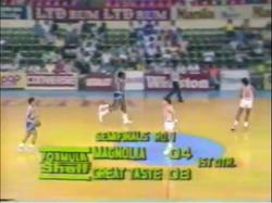 PBA on Vintage Sports scorebug 1987