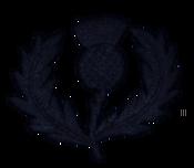 Scotland Rugby vintage logo