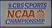 NCAA on CBS 1982 logo