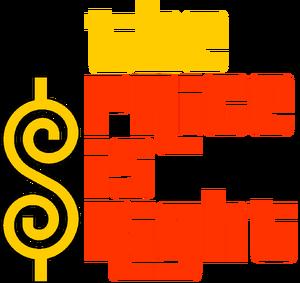 The Price is Right Australia 1973 Logo