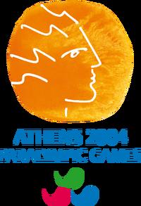 Athens2004 Paralympic games Logo