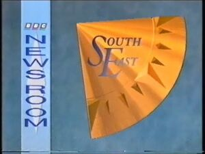 BBC Newsroom South East 1989