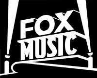 Fox Music print logo