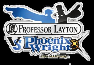Layton VS PW logo