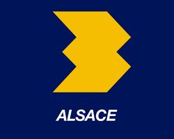 Logo FR3 Alsace 1986