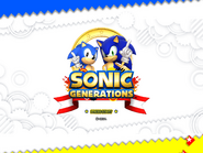 Sonic Generations Title Screen After Boss 4x3