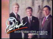 1991 Feb 9 KIII TV 3 Corpus Eyewitness News At War Promo