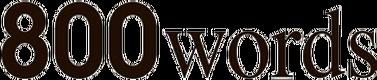 800 Words logo