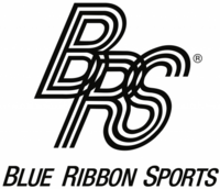 Blue Ribbon Sports and text