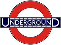 London Underground 1920s Roundel