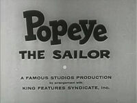 Popeye tv1942
