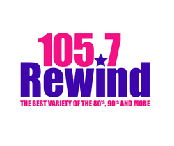 WQSH (Rewind 105.7) logo
