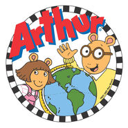 Arthur logo with DW and a globe