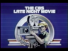 CBS The CBS Late Night Movie 1985