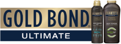 Gold Bond Ultimate (with products)