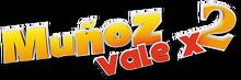 Muñoz vale x 2 logo
