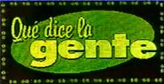 Que dice la gente screen logo