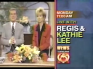 WEWS Live with Regis and Kathie lee 1995 promo