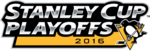 2016 Stanley Cup Playoffs logo (Penguins)