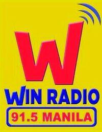 91.5 Win Radio Logo 2017