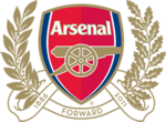 Arsenal FC logo (125th anniversary)