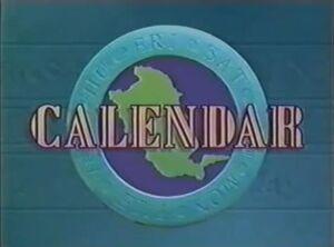 Calendar 1993