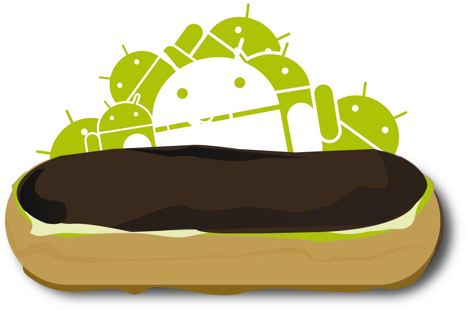 نتيجة بحث الصور عن android Eclair