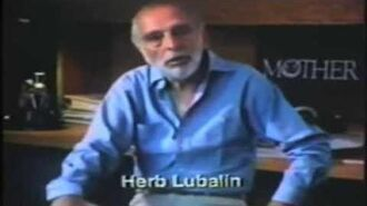 Herb Lubalin talks about creating his PBS logo